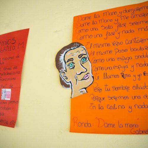Acto Civico Gabriela Mistral 1