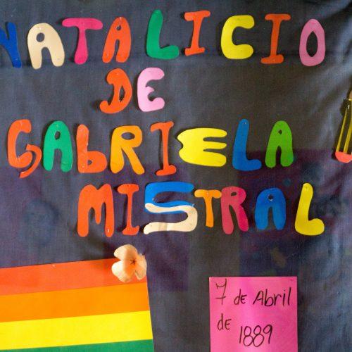 Acto Civico Gabriela Mistral 3