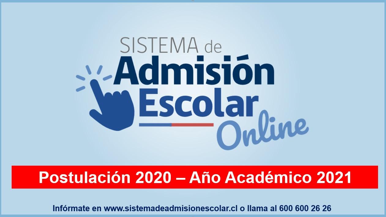 Admisión Escolar 2021